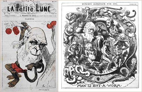 Comment Darwin s'est transformé en singe. | Espacestemps.net