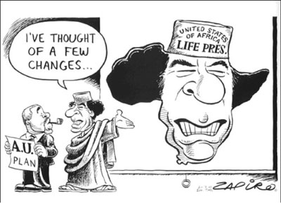 Image : dessin de Zapiro, source : www.mg.co.za