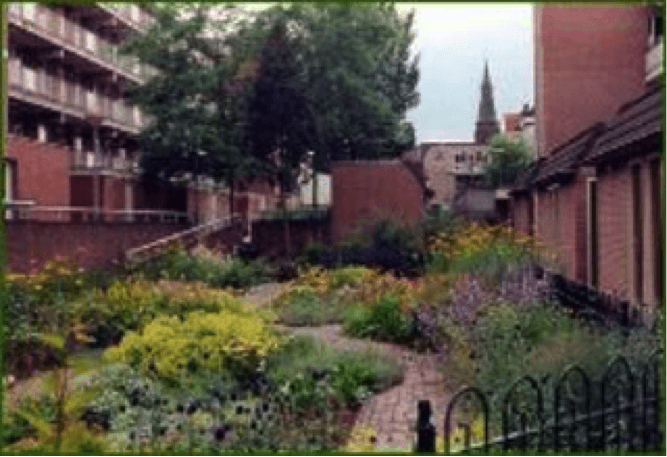 « Spoortuin, Groengroep garden », Arnhem, Hollande, © Spijkerkwartier (droits réservés).