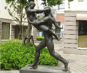 Abb.17: Nacktheit als Markenidentität von Luodian, Shanghai.
