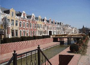 Abb. 21: Fiktionale Grachtenhäuser in Shenyang.