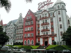 Abb.24: Europäische Stadtfiktion in Shenzhen.