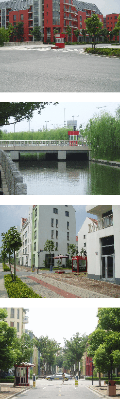 Abb. 5-8: Abschließen oder nicht abschließen? Pseudo-Tore in Anting, Shanghai.