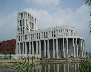 Abb.9: Die Kirche von Anting (GMP, im Bau).