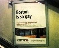 Publicité pour une agence de voyage gay et lesbienne dans le métro de Londres (Royaume-Uni). © 2008 Stéphane Leroy.
