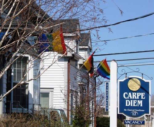 Maison d'hôte gay à Provincetown, Ma (États-Unis). © 2008 Stéphane Leroy.