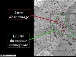 Images 3 et 4 : Captures d'écran de La Fleur du mal de Claude Chabrol (2003) effectuées en janvier 2012.
