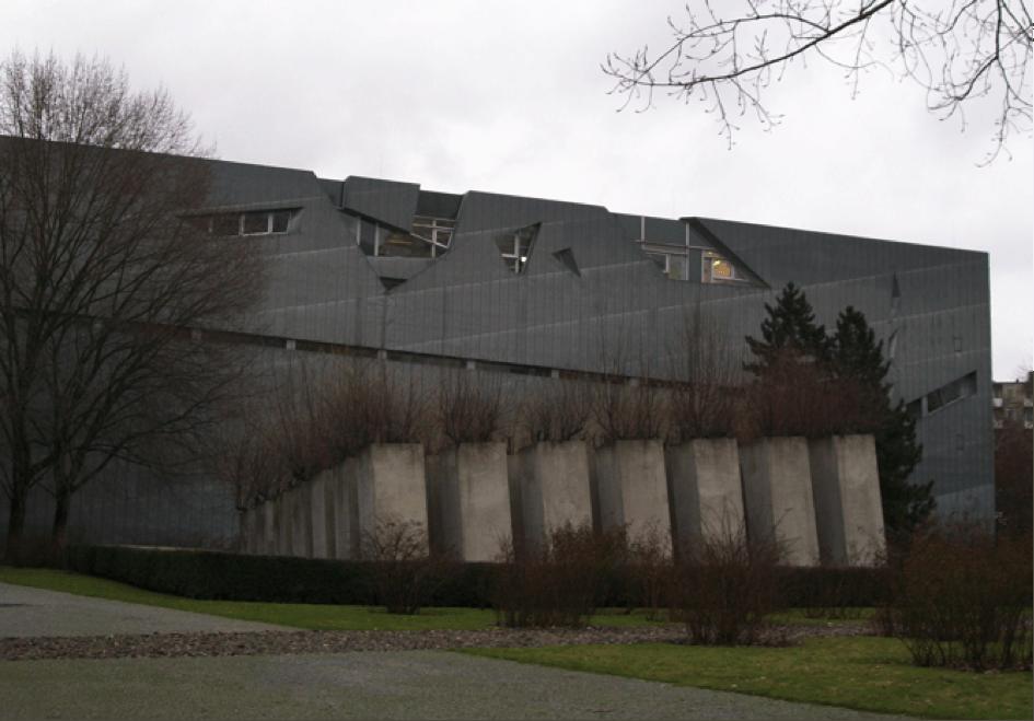 Image 2 : Le Jardin de l'Exil. Musée Juif de Berlin. Source : Dominique Chevalier, janvier 2011.