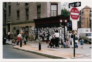 Illustration 4 : Réseaux d'écriture dans toute la ville, New York (2001). Source : Béatrice Fraenkel.