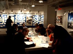 Figure 5 : Dernière salle du 9/11 Tribute Visitor Center, juin 2009. Source : © Gérôme Truc.