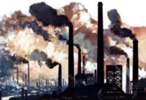 illustration Le monde à l'épreuve de la pollution.