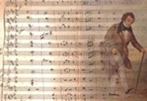 illustration Un homme sur la terre: le cas de Franz Schubert (1797-1828).