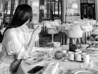 illustration Mangez, c'est du luxe!
